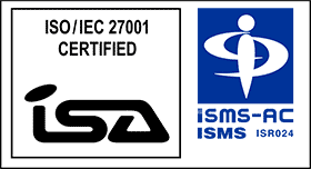 ISO / IEC 27001 CERTIFIED ISA ISMS-AC ISMS ISR024